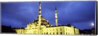 Minarets,Yeni Mosque, Istanbul, Turkey Fine-Art Print