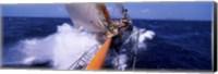 Sailboat in the sea, Antigua, Antigua and Barbuda Fine-Art Print