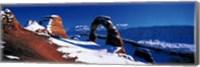 USA, Utah, Delicate Arch, winter Fine-Art Print