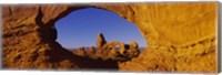 Blue Sky through Stone Arch, Arches National Park, Utah Fine-Art Print