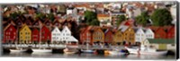 Harbor in Bergen, Norway Fine-Art Print