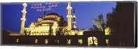 Blue Mosque at night, Istanbul, Turkey Fine-Art Print