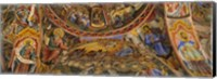 Fresco on the ceiling of the Rila Monastery, Bulgaria Fine-Art Print