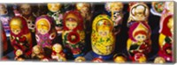 Close-up of Russian nesting dolls, Bulgaria Fine-Art Print