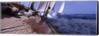 Sailboats in the sea, Antigua, Antigua and Barbuda Fine-Art Print