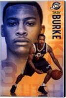 Utah Jazz - T Burke 13 Wall Poster