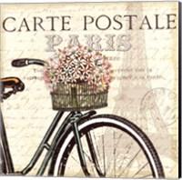 Paris Ride I Fine-Art Print