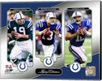 Johnny Unitas, Peyton Manning, & Andrew Luck Legacy Collection Fine-Art Print
