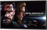 MGS: Ground Zeroes - Big Boss Wall Poster