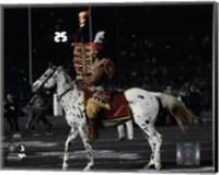 Florida Seminoles mascots Chief Osceola & Renegade 2014 BCS National Championship Game Fine-Art Print