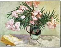 Oleanders and Books, 1888 Fine-Art Print