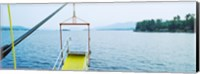 Lake George viewed from a steamboat, New York State, USA Fine-Art Print