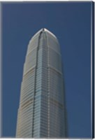 Low angle view of a skyscraper, Two International Finance Centre, Central District, Hong Kong Island, Hong Kong Fine-Art Print