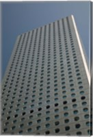 Low angle view of a building, Jardine House, Central District, Hong Kong Island, Hong Kong Fine-Art Print