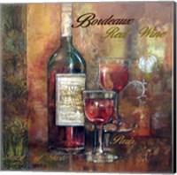 Bordeaux Lettered Fine-Art Print
