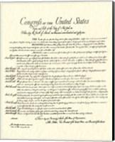 Bill of Rights (Document) Fine-Art Print