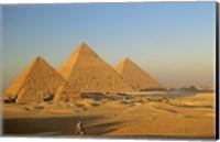 Giza Pyramid, Giza Plateau, Old Kingdom, Egypt Fine-Art Print