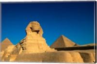 The Sphinx, Pyramids at Giza, Egypt Fine-Art Print