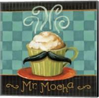 Cafe Moustache V Square Fine-Art Print
