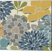 Modern Bouquet Square Fine-Art Print