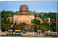 The Pavilion of Buddhist Fragrance, at the Summer Palace, Beijing, China Fine-Art Print