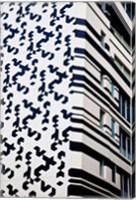 Close up of Building, Hong Kong, China Fine-Art Print