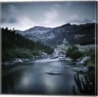 Small river in the mountains of Pirin National Park, Bansko, Bulgaria Fine-Art Print