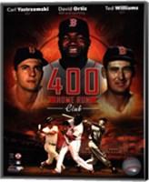 The Boston Red Sox 400 Home Run Club Fine-Art Print