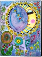 Sleepy Moon Fine-Art Print