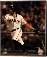 Hunter Pence Game 4 of the 2014 World Series Action Fine-Art Print
