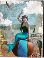 Beach Mermaid Fine-Art Print
