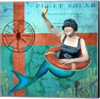Puget Sound Mermaid Fine-Art Print