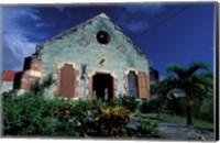 Village Church, Antigua, Caribbean Fine-Art Print