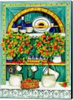 The Blossoming Kitchen I Fine-Art Print