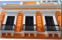 Puerto Rico, Old San Juan, Colonial architecture Fine-Art Print