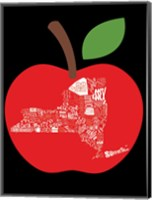 NY apple Fine-Art Print