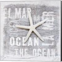 Starfish Square Fine-Art Print