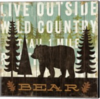 Simple Living Bear Fine-Art Print
