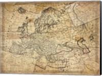 Vintage Map II Fine-Art Print