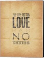 True Love (Beige Background) Fine-Art Print
