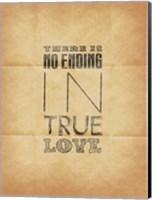 True Love 2  (Beige Background) Fine-Art Print