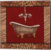Bath - Red Fine-Art Print