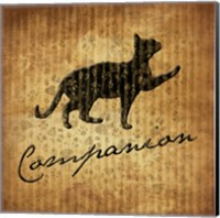 Companion (brown background) Fine-Art Print