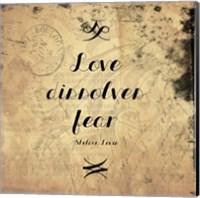 Love Dissolves Fear 1 Fine-Art Print