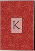 Initials Pattern K Fine-Art Print