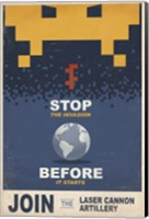 Stop the Invasion Fine-Art Print