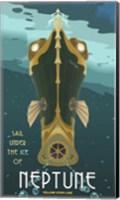Sail Under The Ice Of Neptune Fine-Art Print