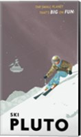 Ski Pluto Fine-Art Print