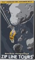 St-Space-06 Spacetravel Asteroids Fine-Art Print