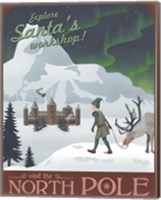 North Pole Christmas Fine-Art Print